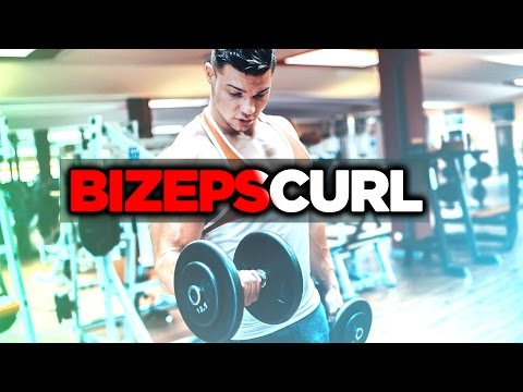 Bizeps Curls - richtig ausführen / BIZEPCURL MIT DER KURZHANTEL | SMARTGAINS