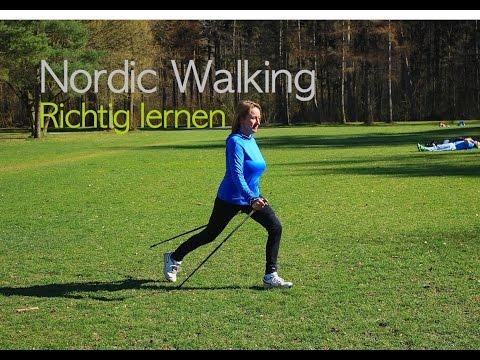 Nordic Walking - richtig lernen