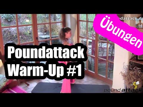 Poundattack Warm Up 1 - Aufwärmübungen zum Stoffwechsel ankurbeln und für Bauch Beine Po Workout