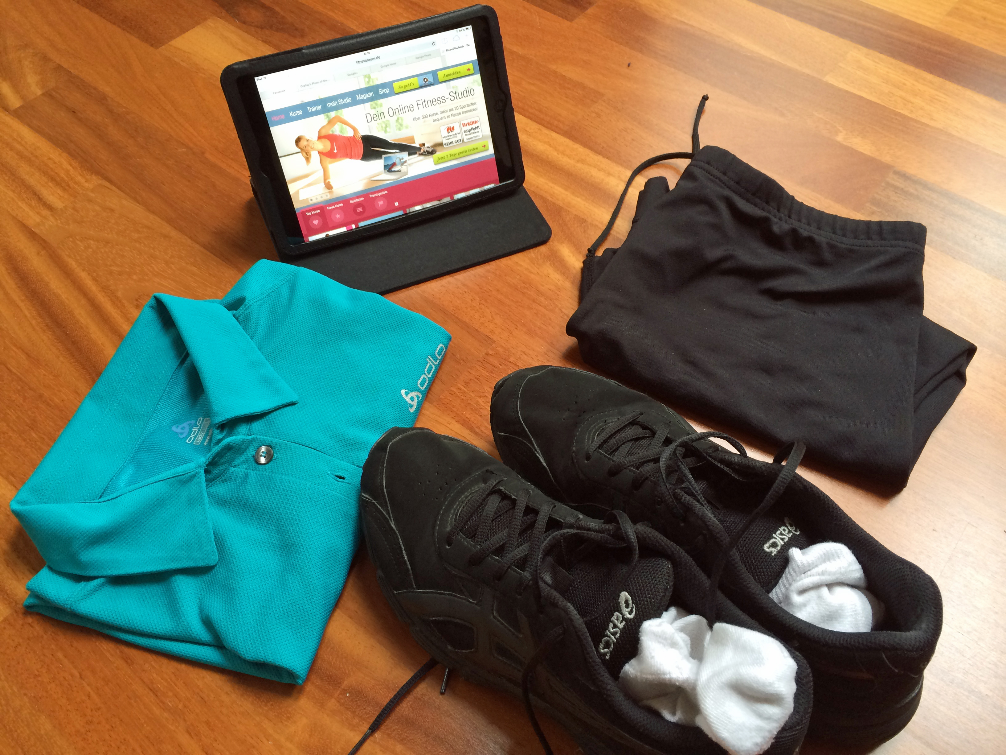 online fitnessstudio
